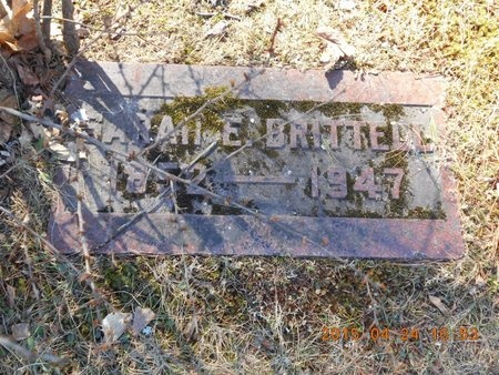 BRITTELL, SARAH - Marquette County, Michigan | SARAH BRITTELL - Michigan Gravestone Photos