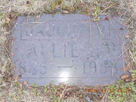 BROWN, ALLIE L. - Marquette County, Michigan   ALLIE L. BROWN - Michigan Gravestone Photos