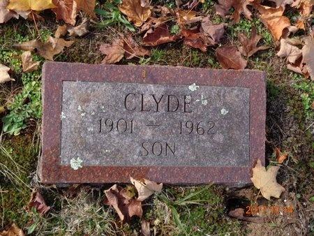 BROWN, CLYDE - Marquette County, Michigan | CLYDE BROWN - Michigan Gravestone Photos