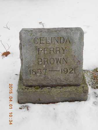 PERRY BROWN, CELINDA LORINDA - Marquette County, Michigan   CELINDA LORINDA PERRY BROWN - Michigan Gravestone Photos