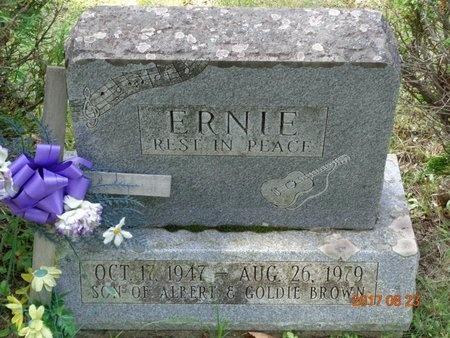 BROWN, ERNIE - Marquette County, Michigan | ERNIE BROWN - Michigan Gravestone Photos
