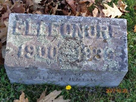BROWN, ELLEONORE - Marquette County, Michigan | ELLEONORE BROWN - Michigan Gravestone Photos