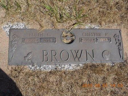 BROWN, CHESTER P. - Marquette County, Michigan | CHESTER P. BROWN - Michigan Gravestone Photos