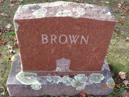 BROWN, FAMILY - Marquette County, Michigan | FAMILY BROWN - Michigan Gravestone Photos