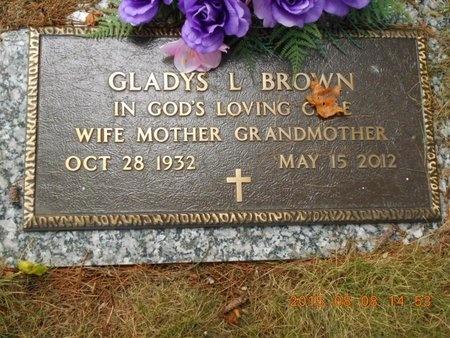 BROWN, GLADYS L. - Marquette County, Michigan | GLADYS L. BROWN - Michigan Gravestone Photos