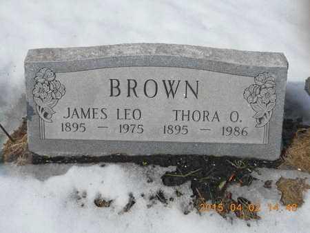 BROWN, THORA O. - Marquette County, Michigan | THORA O. BROWN - Michigan Gravestone Photos