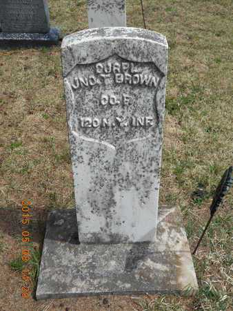 BROWN, JOHN T. - Marquette County, Michigan | JOHN T. BROWN - Michigan Gravestone Photos