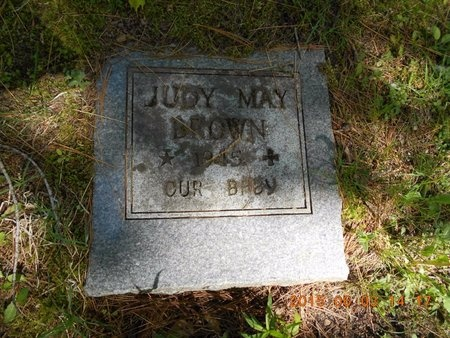 BROWN, JUDY MAY - Marquette County, Michigan | JUDY MAY BROWN - Michigan Gravestone Photos