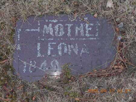 BROWN, LEONA - Marquette County, Michigan | LEONA BROWN - Michigan Gravestone Photos