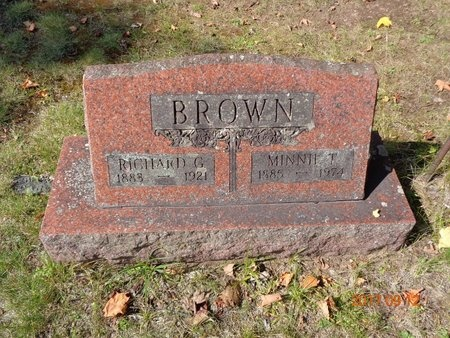 BROWN, RICHARD G. - Marquette County, Michigan | RICHARD G. BROWN - Michigan Gravestone Photos