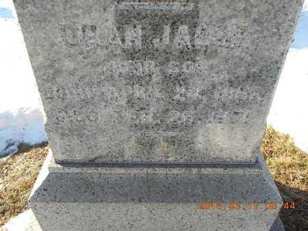 BROWN, ORAN JACOB - Marquette County, Michigan | ORAN JACOB BROWN - Michigan Gravestone Photos