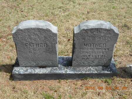 BROWN, PHOEBE - Marquette County, Michigan | PHOEBE BROWN - Michigan Gravestone Photos