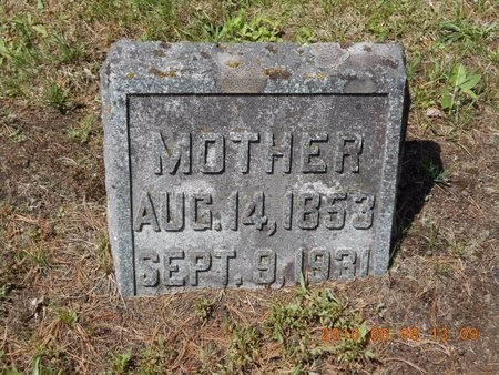 BROWN, REBECCA - Marquette County, Michigan | REBECCA BROWN - Michigan Gravestone Photos