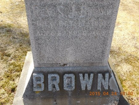 BROWN, REV. S.J. - Marquette County, Michigan | REV. S.J. BROWN - Michigan Gravestone Photos