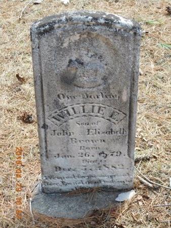 BROWN, WILLIE E. - Marquette County, Michigan | WILLIE E. BROWN - Michigan Gravestone Photos