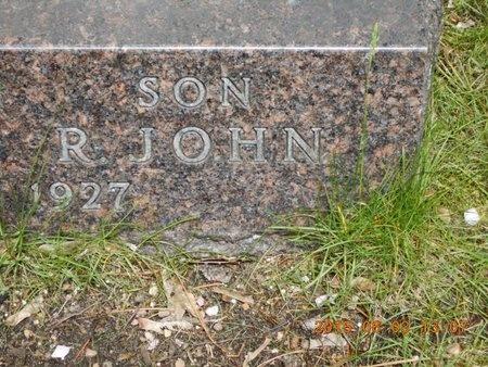 BULLOCK, R. JOHN - Marquette County, Michigan | R. JOHN BULLOCK - Michigan Gravestone Photos