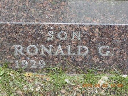 BULLOCK, RONALD G. - Marquette County, Michigan | RONALD G. BULLOCK - Michigan Gravestone Photos