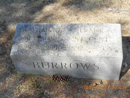 BURROWS, KATHARINE - Marquette County, Michigan   KATHARINE BURROWS - Michigan Gravestone Photos