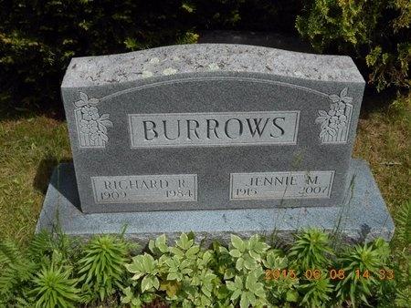 BURROWS, RICHARD R. - Marquette County, Michigan   RICHARD R. BURROWS - Michigan Gravestone Photos