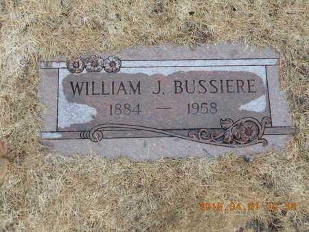 BUSSIERE, WILLIAM J. - Marquette County, Michigan | WILLIAM J. BUSSIERE - Michigan Gravestone Photos