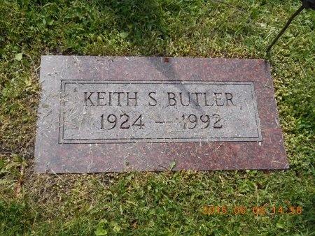 BUTLER, KEITH S. - Marquette County, Michigan   KEITH S. BUTLER - Michigan Gravestone Photos