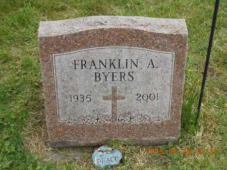 BYERS, FRANKLIN A. - Marquette County, Michigan | FRANKLIN A. BYERS - Michigan Gravestone Photos