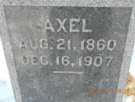 BYSTROM, AXEL - Marquette County, Michigan | AXEL BYSTROM - Michigan Gravestone Photos