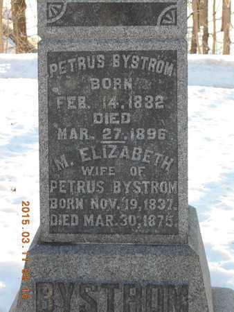 JULKY BYSTROM, MARY ELIZABETH - Marquette County, Michigan   MARY ELIZABETH JULKY BYSTROM - Michigan Gravestone Photos