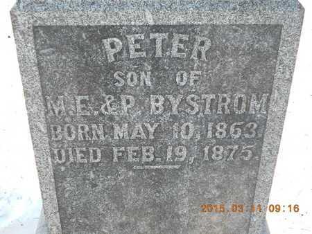 BYSTROM, PETER - Marquette County, Michigan   PETER BYSTROM - Michigan Gravestone Photos