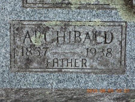 CAMPBELL, ARCHIBALD - Marquette County, Michigan | ARCHIBALD CAMPBELL - Michigan Gravestone Photos