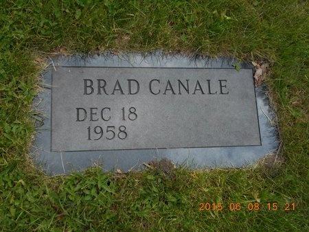 CANALE, BRAD - Marquette County, Michigan | BRAD CANALE - Michigan Gravestone Photos