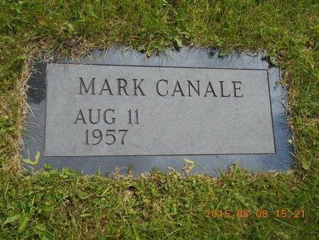 CANALE, MARK - Marquette County, Michigan | MARK CANALE - Michigan Gravestone Photos