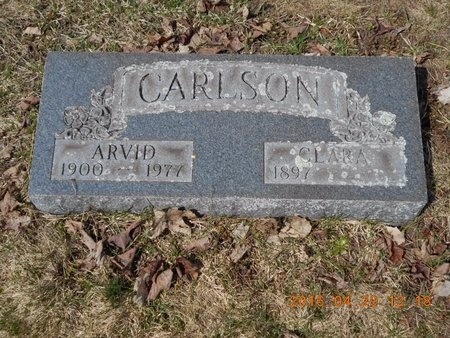CARLSON, ARVID - Marquette County, Michigan | ARVID CARLSON - Michigan Gravestone Photos