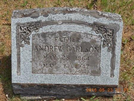 CARLSON, ANDREW - Marquette County, Michigan | ANDREW CARLSON - Michigan Gravestone Photos