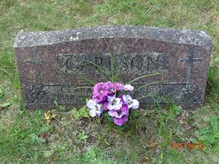 CARLSON, AXEL V. - Marquette County, Michigan   AXEL V. CARLSON - Michigan Gravestone Photos