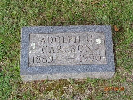 CARLSON, ADOLPH G. - Marquette County, Michigan | ADOLPH G. CARLSON - Michigan Gravestone Photos
