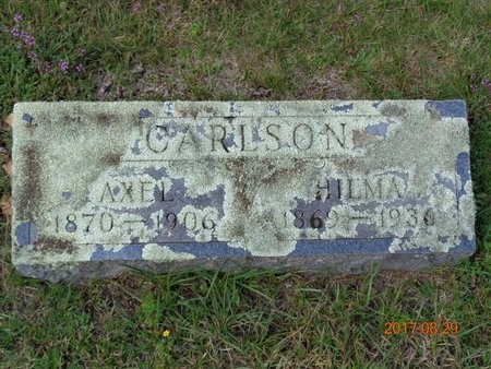 CARLSON, HILMA - Marquette County, Michigan | HILMA CARLSON - Michigan Gravestone Photos