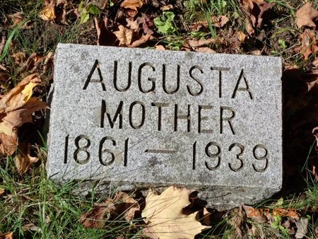 CARLSON, AUGUSTA - Marquette County, Michigan | AUGUSTA CARLSON - Michigan Gravestone Photos