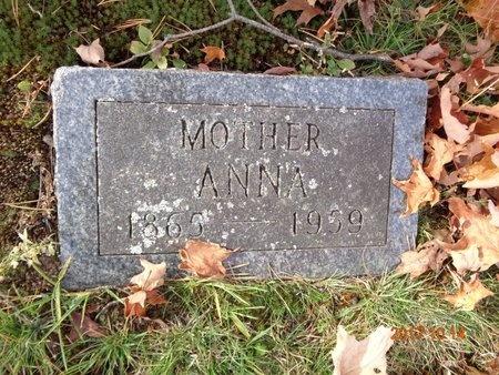 CARLSON, ANNA - Marquette County, Michigan | ANNA CARLSON - Michigan Gravestone Photos