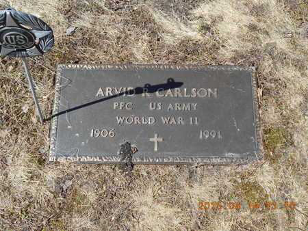 CARLSON, ARVID R. - Marquette County, Michigan | ARVID R. CARLSON - Michigan Gravestone Photos