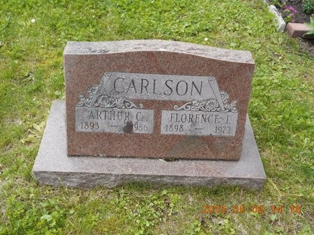 CARLSON, FLORENCE I. - Marquette County, Michigan | FLORENCE I. CARLSON - Michigan Gravestone Photos
