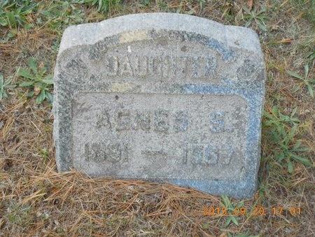 CARLSON, AGNES S. - Marquette County, Michigan | AGNES S. CARLSON - Michigan Gravestone Photos