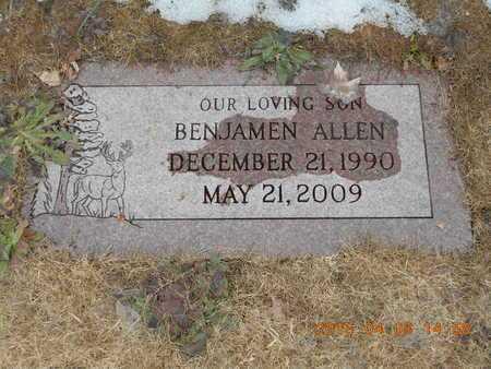 CARLSON, BENJAMEN ALLEN - Marquette County, Michigan | BENJAMEN ALLEN CARLSON - Michigan Gravestone Photos