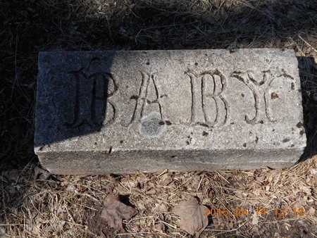 CARLSON, BABY - Marquette County, Michigan | BABY CARLSON - Michigan Gravestone Photos