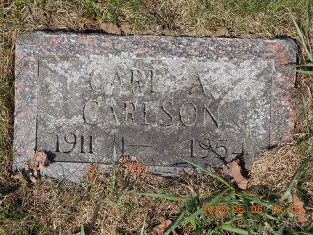 CARLSON, CARL A. - Marquette County, Michigan | CARL A. CARLSON - Michigan Gravestone Photos