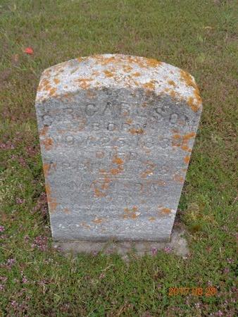 CARLSON, CHARLES R. - Marquette County, Michigan | CHARLES R. CARLSON - Michigan Gravestone Photos