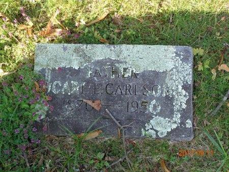 CARLSON, CARL E. - Marquette County, Michigan | CARL E. CARLSON - Michigan Gravestone Photos
