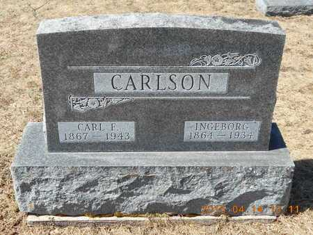 CARLSON, INGEBORG - Marquette County, Michigan | INGEBORG CARLSON - Michigan Gravestone Photos