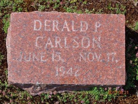 CARLSON, DERALD P. - Marquette County, Michigan | DERALD P. CARLSON - Michigan Gravestone Photos