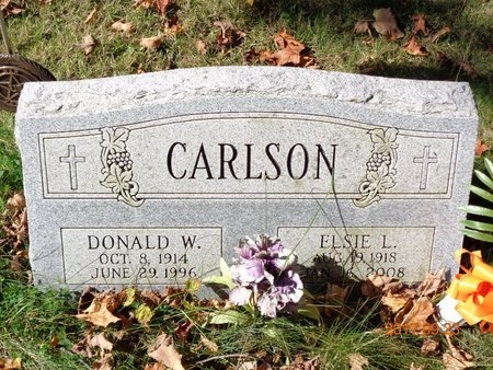 CARLSON, DONALD W. - Marquette County, Michigan | DONALD W. CARLSON - Michigan Gravestone Photos